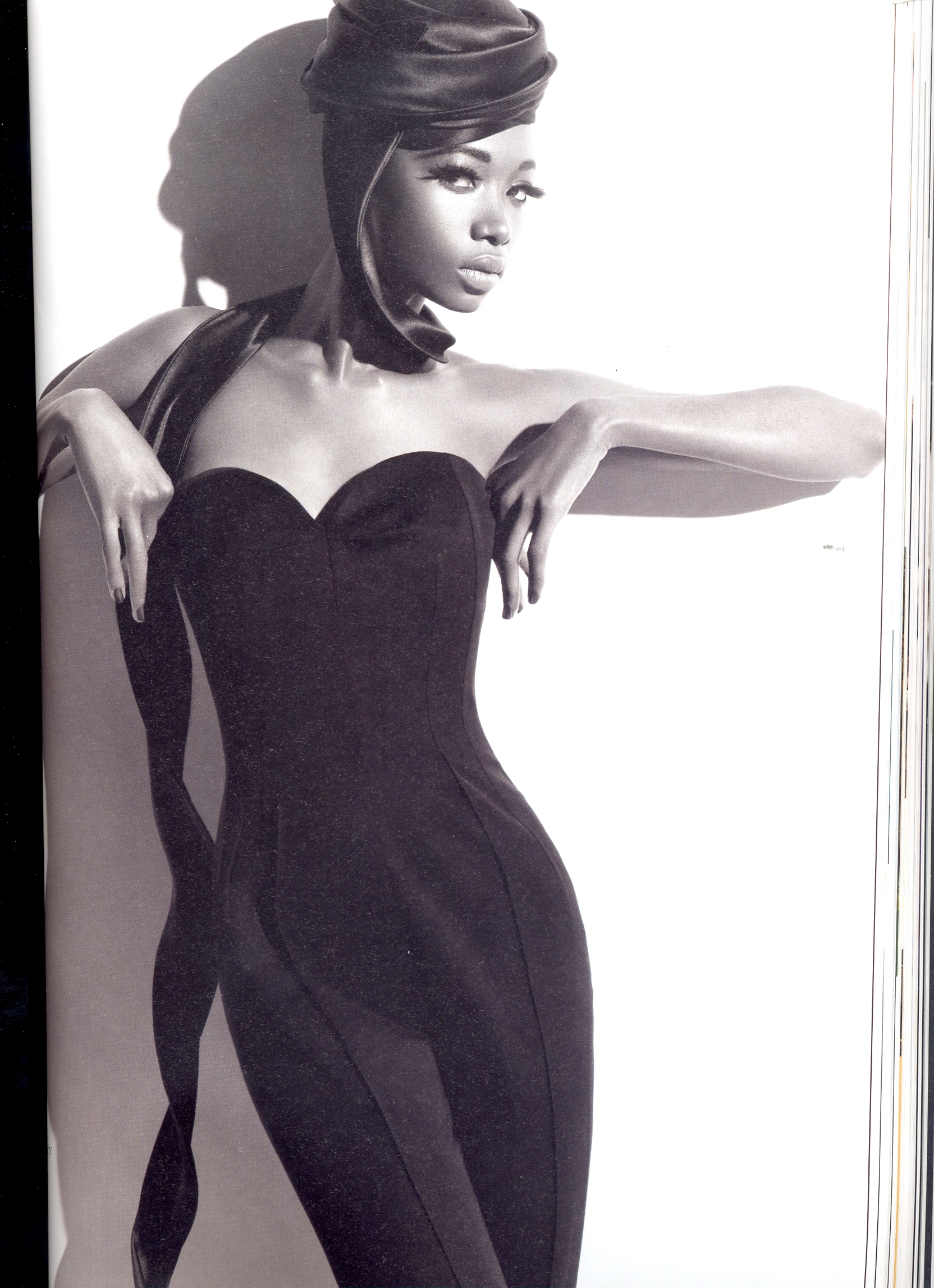 Black Model To Watch: Georgie Baddiel In Arise Magazine