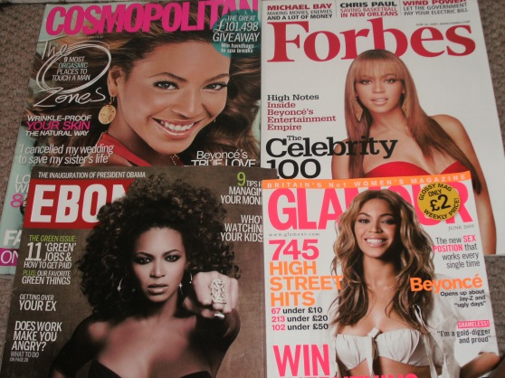Beyonce Stannism in Magazines