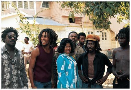 Bob Marley & Katharine Jackson
