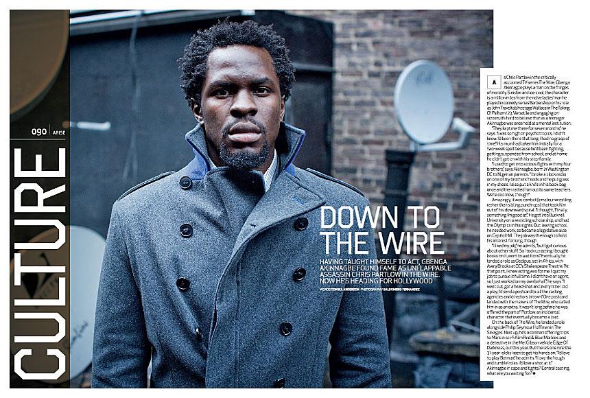 Black Men in Magazines – Charcoal Ink