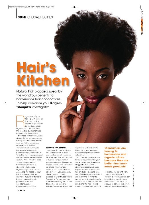 New Feature Written By Me For Black Beauty Amp Hair Magazine